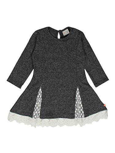 FS Mini Klub Baby Girls' Dress (89779T GR ML_6-12M, 6-12M, Grey)  available at amazon for Rs.239