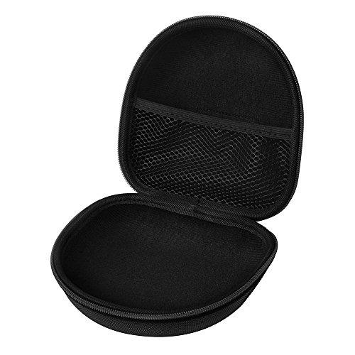 Hartschalen Kopfhörer Tasche, Headset schützende EVA-Kasten Reisetasche für Marshall Major I / Major II / Mid Bluetooth On-Ear-Kopfhörer (Schwarz)