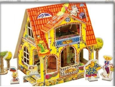 DOLLS HOUSE. CLEVER PAPER REF 14028 ()