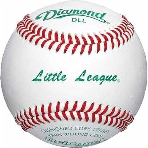 Diamond Little League Tournament Grade Baseball, Dozen by Diamond