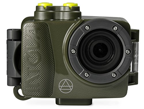 Intova Dub de GN Deportes Impermeable cámara de acción con Alta resolución 1080p Verde