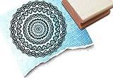 Stempel - Motivstempel MANDALA II - Zentangle / Doodle, als Vorlage zum Ausmalen, für Karten, Kunst und mehr... - Bildstempel von zAcheR-fineT