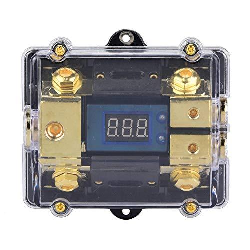 erungshalter, 100A LED Anzeige Car Audio Distribution Sicherungsblock Stereo Power Sicherungshalter Box ()