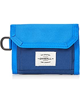 O'Neill - Bm Pocketbook Wallet, Carteras Hombre, Blau (Turkish Sea), 2x13,5x11 cm (B x H T)
