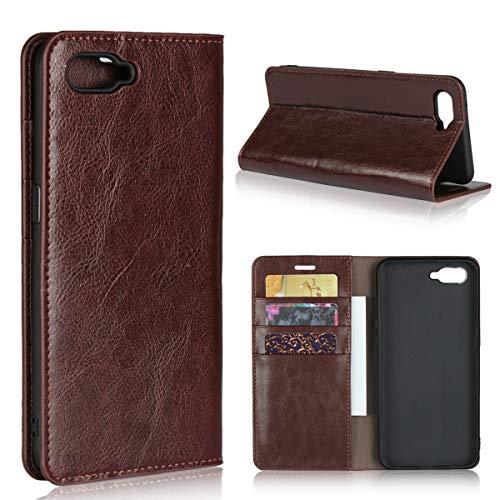 Custodia® Flip Brieftasche Hülle für Oppo RX17 Neo(Muster 2)
