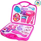 Smiles Creation Beauty Set with Hair Dryer and Accessories Toys for Kids, Multi Color