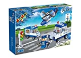 Banbao - 113 Piece Police Pursuit Set Compatible with the Leading Brand - Boy Boys Child Kids - Ultimate Construction Building Blocks Christmas Xmas Present Gift Age 5+