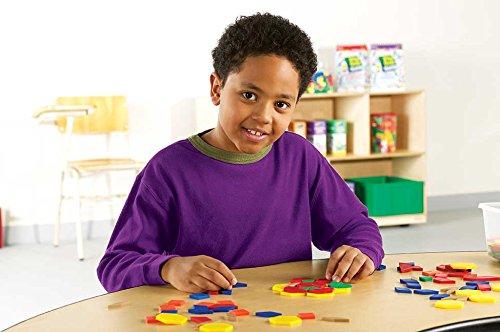Imagen principal de Learning Resources LER0134 - Lote de 250 piezas con formas geométricas