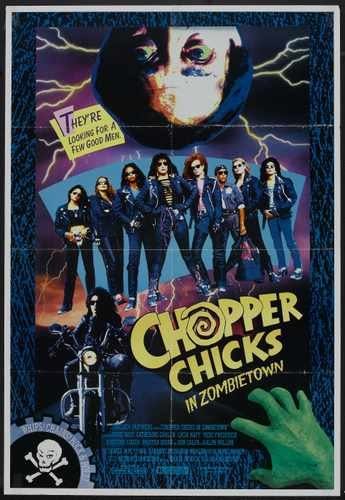Chopper Chicks In Zombietown Poster 01 A3 Box Canvas Print