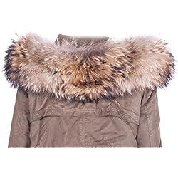 Cuello estola de frío abrigo de invierno