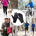 Unigear Winter Warm Gloves Double Waterproof Windproof with Touchscreen Function Cycling Gloves for Daily Use,Gardening, Builders, Mechanic 13