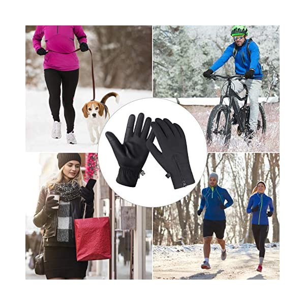 Unigear Winter Warm Gloves Double Waterproof Windproof with Touchscreen Function Cycling Gloves for Daily Use,Gardening, Builders, Mechanic 6