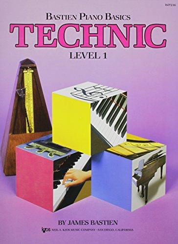 Price comparison product image Bastien Piano Basics: Technic Level 1 (Level 1 / Bastien Piano Basics Wp216)