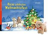 Ricas schönstes Weihnachtsfest: Ein Folien-Adventskalender zum Vorlesen und Gestalten eines Fensterbildes mit einem Stoffschaf