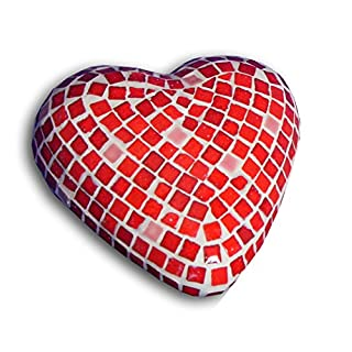 ALEA Mosaic Craft Kit, 3D Sculpture, Heart