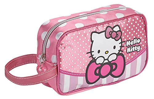KARACTERMANIA Hello Kitty Bow Bolsa de Aseo, 21 cm, Rosa