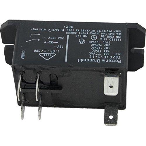 Potter 60-241-1154 T-92 DPST-NO 30A 18 VDC Coil Relay