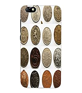 ColourCraft Antique Coins Design Back Case Cover for HUAWEI HONOR 4X