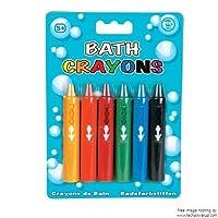 """4xTobar """"BATH CRAYONS"""" Crayons Markers Pencil Chalk"""