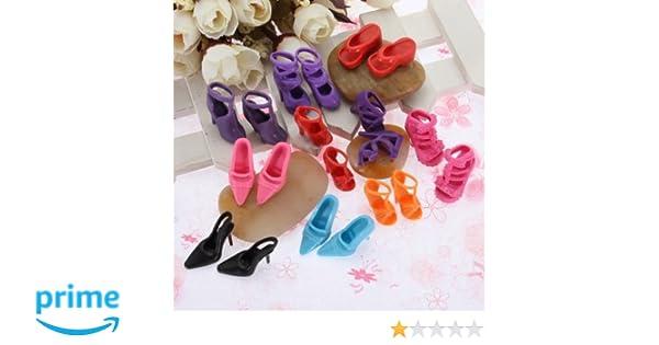 Runrain Doll Shoes 1//4 Accessories Canvas Fashion Summer Toys Mini Sneakers Denim Boots