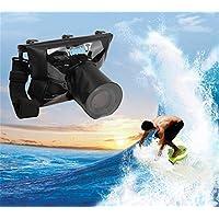 HYSF Universal Camera waterproof case SLR camera waterproof bag diving set camera waterproof cover snorkeling SLR waterproof cover (3,T-518L lens length 14CM lens space 10CM)