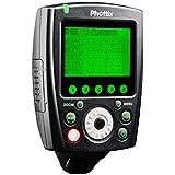 Phottix-89069 Déclencheur de flash à distance déclencheur + émetteur pour Nikon Noir