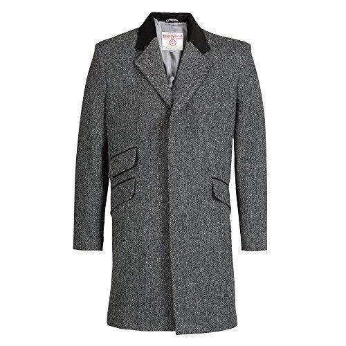 Neuf de Luxe Authentique pour Hommes Harris Tweed Veste - Cromby - Laxdale - Choisissez la Taille - Laxdale, XL