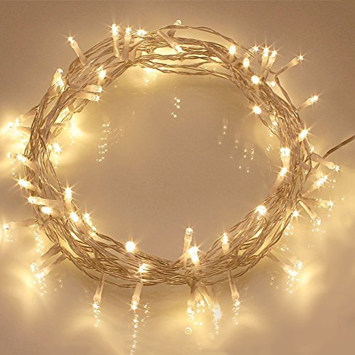 33ft-100-led-warm-white-waterproof-twinkle-starry-fairy-string-lights-by-90-points-plug-in-for-party