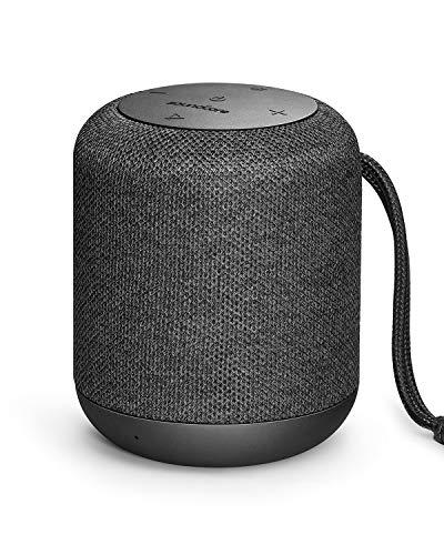 Soundcore Bluetooth Lautsprecher Motion Q Tragbarer 16W Lautsprecher von Anker mit fantastischem 360° Sound, BassUp Technologie und IPX7 Wasserdichte, für Drinnen und Draußen