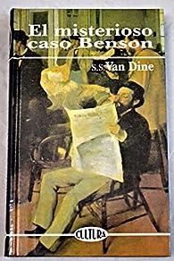 El misterioso caso Benson par S. S. Van Dine