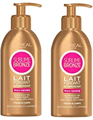 L'Oréal Paris Lait Autobronzant Corps Lot de 2 X 150 ML