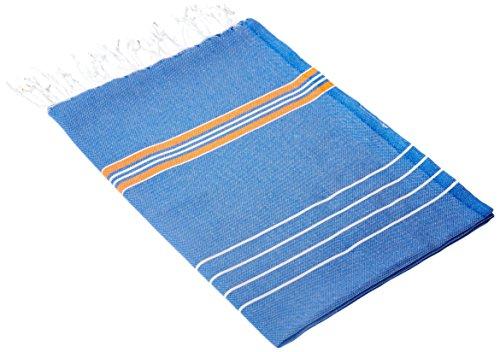 CACALA 100% reine Baumwolle luxuriöses türkisches Bad Hammam Handtücher - Weich und sanft zu Babys Haut - Super saugfähig und schnelle Trocknung Pestemal Hamam Handtuch - portabel & leichte mehrzweck Peshtemals