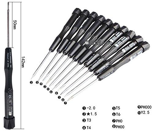 10in 1Schraubendreher Repair Tools Kit für Handys und Tablet - Tablet Ipod 10 Zoll