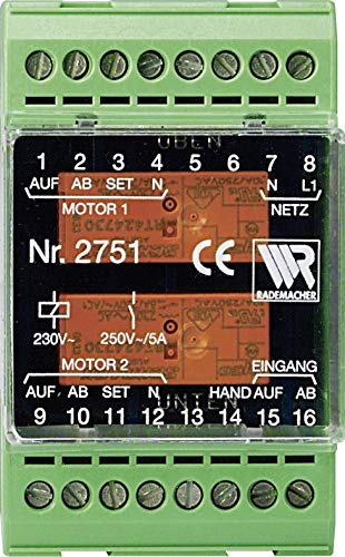 P & K Products - Relè di controllo multiplo per guida DIN