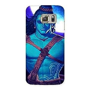 Enticing Warior Shiva Blue Back Case Cover for Samsung Galaxy S6 Edge Plus
