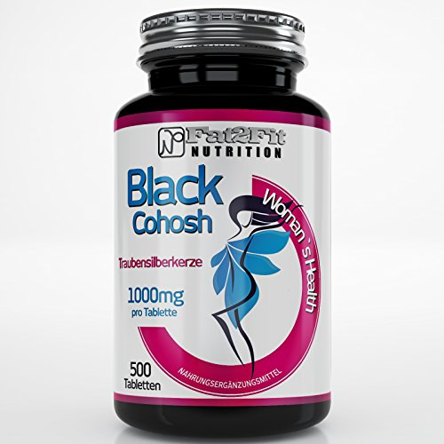 Traubensilberkerze 1000mg - 500 Tabletten - Die preiswerte Alternative