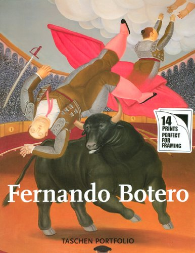 Fernando Botero. Portfolio. Ediz. tedesca, francese e inglese