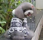 Pet Manteau pour chien chat Combinais...