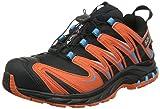 Salomon XA PRO 3D GTX, Scarpe sportive, Uomo, (Schwarz/Orange (Black/Tomato Red/Blue Line)), 42.7