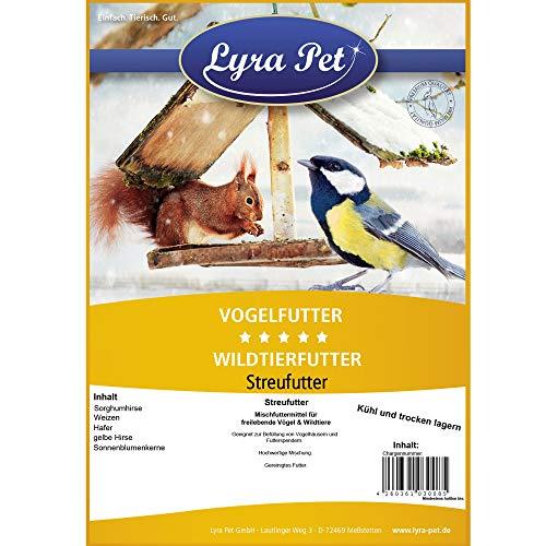 25kg Streufutter Vogelfutter Meisenfutter Wildvogelfutter Premium Mischung - 4