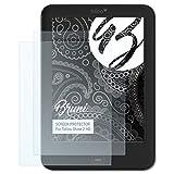 Bruni Schutzfolie für Tolino Shine 2 HD Folie - 2 x glasklare Displayschutzfolie