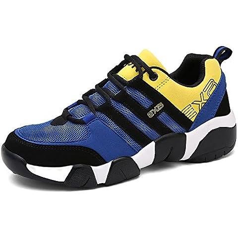 Flyhigh Zapatos para Correr en Montaña y Asfalto Aire Libre y Deportes Zapatillas de Running Padel para