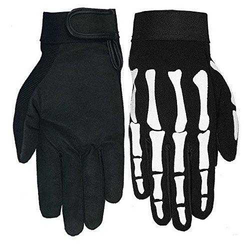 Handschuhe Moto Mechanische Skull Skelett Hand Bones