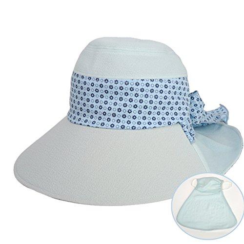 Pare-soleil chapeau de soleil/Neck bouchon de garde avec un masque A