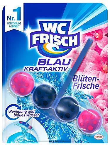 WC Frisch Kraft-Aktiv Blauspüler Blüten-Frische Paket, 10er Pack (10 x 50 g)