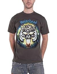 Motorhead Shirt Overkill Album Cover Warpig Logo Official Mens Grey