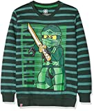 LEGO Wear Jungen Lego Ninjago M-72647-Sweatshirt, grün (Green 890), 152