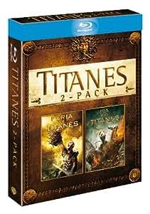 Pack: Furia De Titanes + Ira De Titanes (BD 3D + BD) [Blu-ray 3D] [Import espagnol]