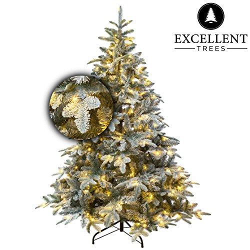 Excellent Trees Weihnachtsbaum LED OTTA 180 cm mit Beleuchtung - Luxusedition - 320 Lämpchen