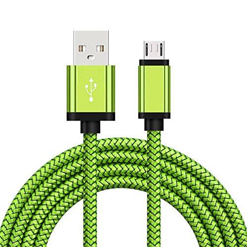 ACALI® 2 stücke 2M Starke Geflochtene Heavy Duty Micro USB Daten Sync Ladekabel für Huawei Xiaomi Android Handys - Kunden-service-telefon-nummer